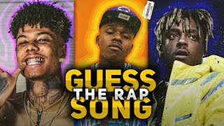 GUESS THE RAP SONG 2019 - VOLUME 2 (Juice WRLD, Blueface, DaBaby, Lil Mosey, and MORE!)