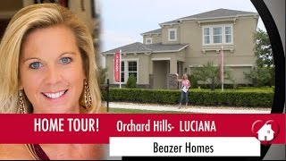 New Homes Winter Garden Florida Luciana Model by Beazer at Orchard Hills