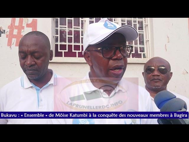 Bukavu : « Ensemble » de Moïse Katumbi à la conquête des nouveaux membres à Bagira