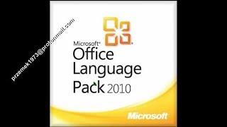 Microsoft Office 2010 Language Packs. Przemysław Frąc