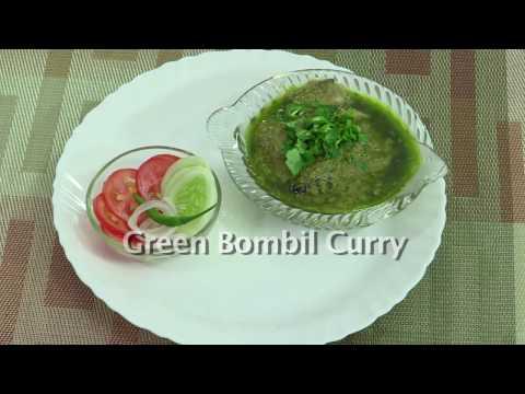 ARTI NIJABKAR'S Recipe  Green Bombil Fish  Curry