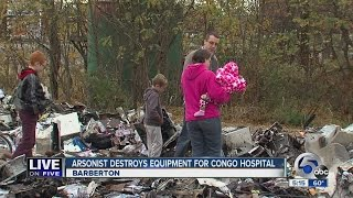 Live on Five: Group building a hospital stopped by arson fire