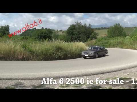 Alfa 6 2500 Ie For Sale