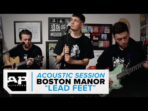 "Boston Manor–""Lead Feet"" Acoustic Session"
