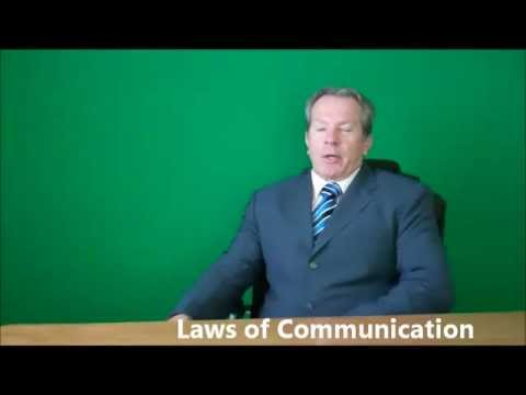 """Laws of Communication"" is a Prescription for Success, says Dr. Rich Schuttler"