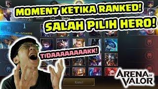 Download Video BEGINI RASANYA SALAH PICK HERO di RANKED! - Arena of Valor MP3 3GP MP4
