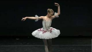 Leanne Fromm - Paquita Variation 4 - YAGP 2010 NYC finals