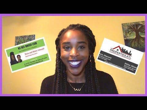 Business Card Designs for Real Estate Investors | Wholesaling Real Estate