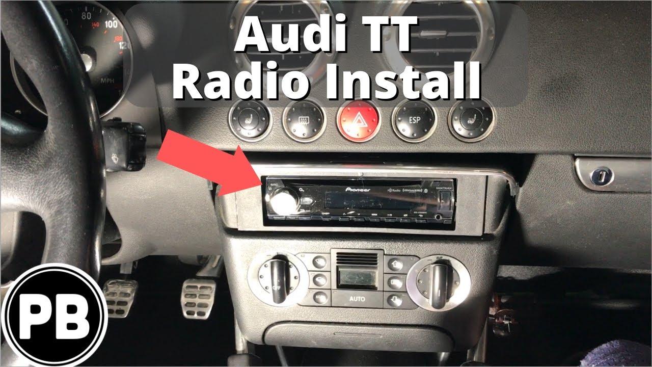 medium resolution of 1998 2006 audi tt bluetooth stereo install pioneer deh x7800bhs audi tt mk2 radio wiring diagram audi tt radio wiring harness