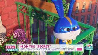 Patton Oswalt, Jenny Slate, Kevin Hart Talk 'Secret Life Of Pets 2' | TODAY