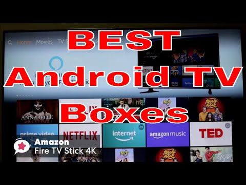 Top Android TV Boxes - Streaming, Gaming, Movies