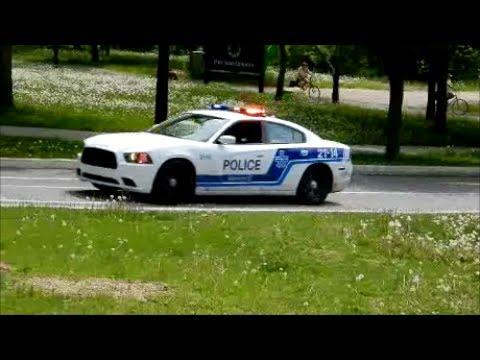 MONTREAL POLICE RESPONDING ON ILE ST HELENE ISLAND