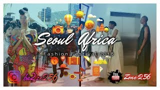 Seoul africa fashion festival 2018 at dongdaemun plaza.