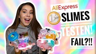 1€ SLIMES von AliExpress testen! - China Shop Slimes | Valeria Greb