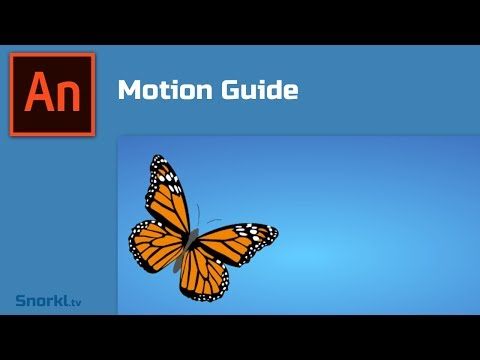 Animate CC 2019: How to make a motion guide