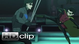 BATMAN Vs ROBIN - Robin Vs Nightwing Clip - Official (2015) [HD]