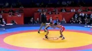 ОИ -2012 Бесик Кудухов - Асгаров (Азербайджан) 60 кг