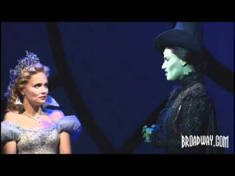 """Wicked"" Original Broadway Cast - Idina Menzel & Kristin Chenoweth Sing ""For Good"""