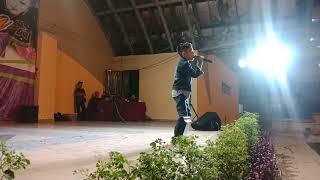 Putra bersaing dengan orang dewasa Di MPAJ karaoke 🎤 Competition