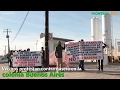 Vecinos protestan contra gasera en la colonia Buenos Aires