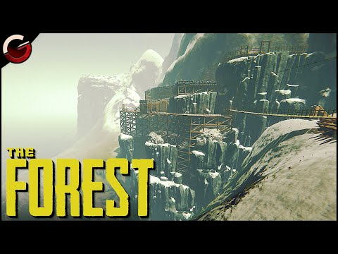 MOST SECURE CLIFF BASE! The Ultimate Mountain Fortress | The Forest Gameplay |