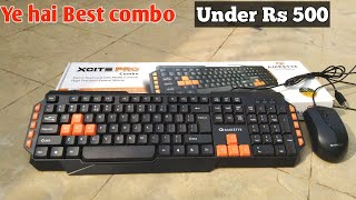 Amkette Xcite Pro USB Keyboard and Mouse Combo