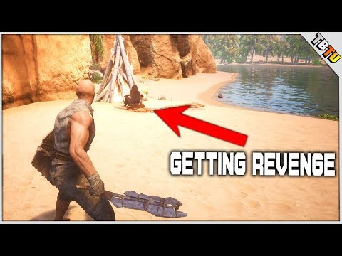 PROTECTING MY TERRITORY AND BUILDING THE BASE! Conan Exiles PVP PC Gameplay E2