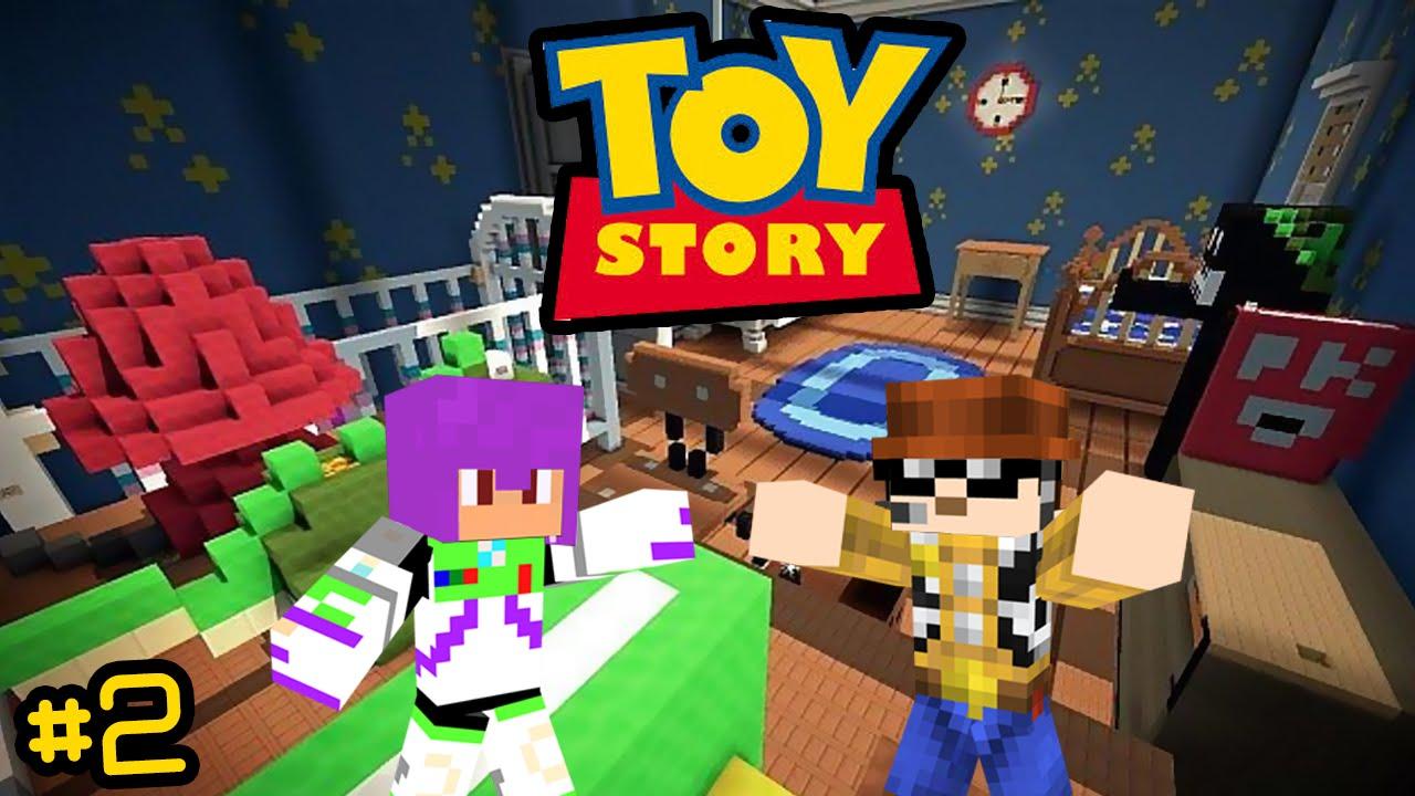 Quarto Toy Story ~ Miss u00e3o no Quarto! Toy Story Minecraft #2 YouTube