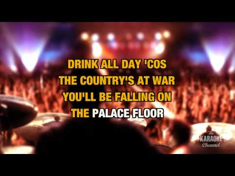 Kingdom Of Doom in the style of The Good, the Bad & the Queen | Karaoke with Lyrics