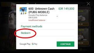 NCC - Cara beli Royale Pass PUBG Mobile dengan redeem kode Google Play