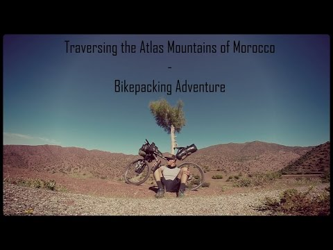 Traversing the Atlas Mountains of Morocco // Bikepacking Adventure