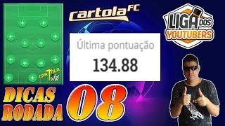CARTOLA FC 2019 RODADA 8 LIDERANÇA NA LIGA DOS YOUTUBERS