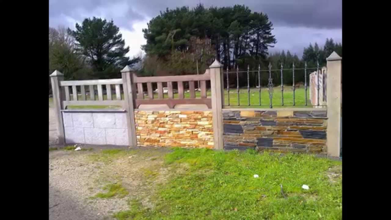 Nuevos cierres prefabricados para fincas y jardin youtube for Casas prefabricadas para jardin
