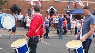 Saltcoats Protestant Boys in The East 13/07/14