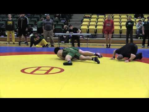 2016 Golden Bear Open: 120 kg Daniel Oloumi vs. Parker Florell
