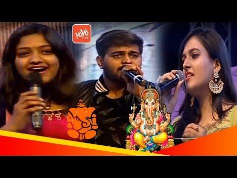 Ekadantaya Vakratundaya Gauri Tanaya Dhimi Song by Singer Ramachari | Baahubali Singers | YOYO TV