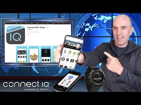 Garmin Connect IQ™ Store App // Personalize Your Garmin Devices