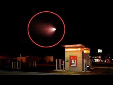 Scary UFO Sighting in California | UFO Red LIght Caught on Camera Over California