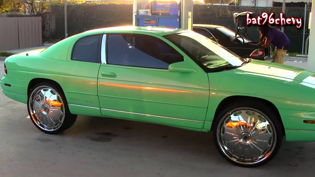Outrageous 90 S Chevy Monte Carlo On 24 Quot Davin Surge