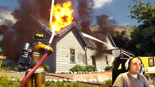 Firefighting Simulator - Un Incendio Indomabile! - Gameplay Ita