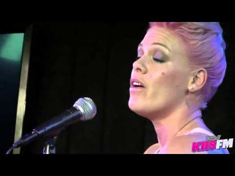 102 7 KIIS FM  Pink  Who Knew   Acoustic