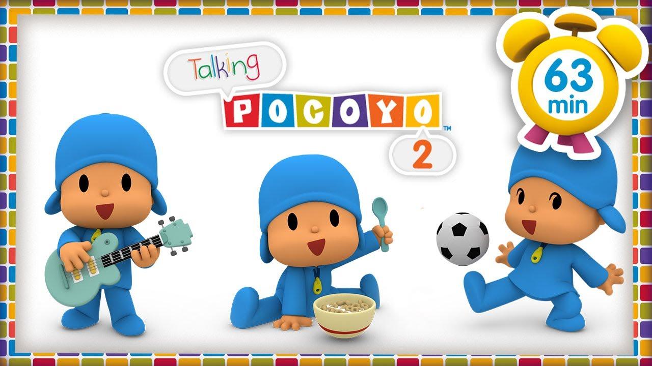 🕹️  POCOYO FRANÇAIS - Talking Pocoyo 02: Mots en pagailler! [63 min] | DESSIN ANIMÉ pour enfants