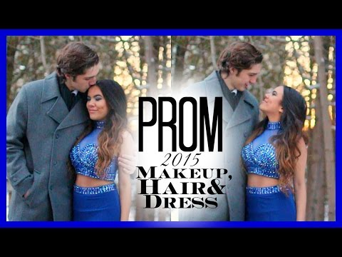 prom-2015:-makeup,-hair-&-dress-♡
