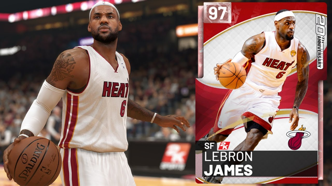 d590d09493a NBA 2K19 MyTEAM - Pink Diamond LeBron James Gameplay (20th Anniversary  Cover Series 2)