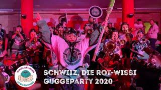 Schwiiz, die rot-wissi Guggeparty 2020 - Windläfurzer Zunzgen