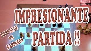 IMPRESIONANTE PARTIDA DEEP BLUE VS KASPAROV 1ºpartida 1996