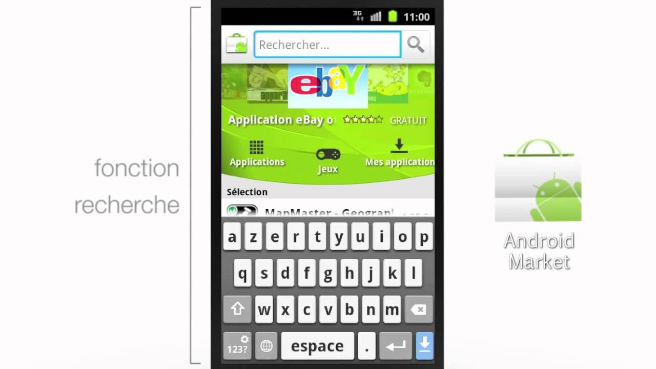 désinstaller application youtube téléphone android