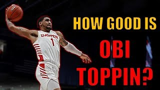 How Good Is Obi Toppin? | #1 Draft Pick? | Player Analysis