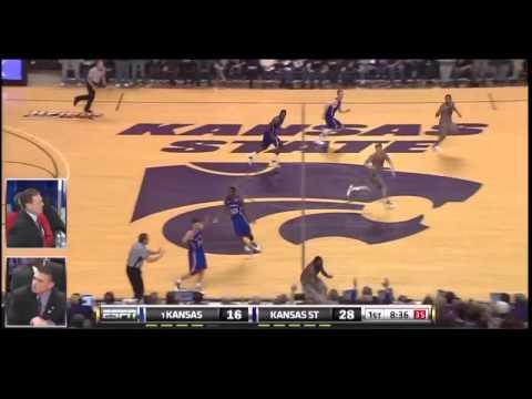 2011 K-State vs KU Basketball-1st Half