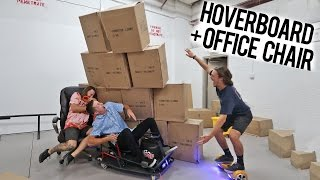 HUMAN BOWLING IN MY WAREHOUSE